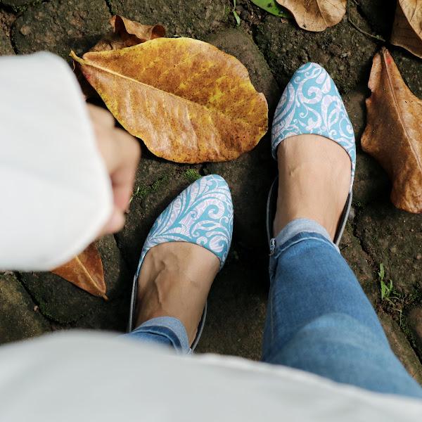 The Warna, Rekomendasi Sepatu Etnik Masa Kini !