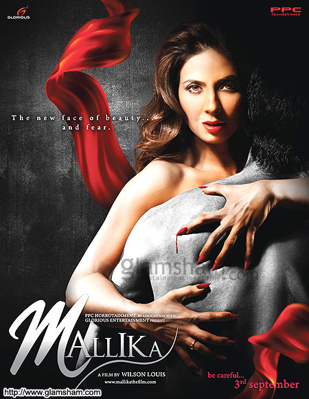Poster of Mallika 2010 480p Hindi HDRip Full Movie Download