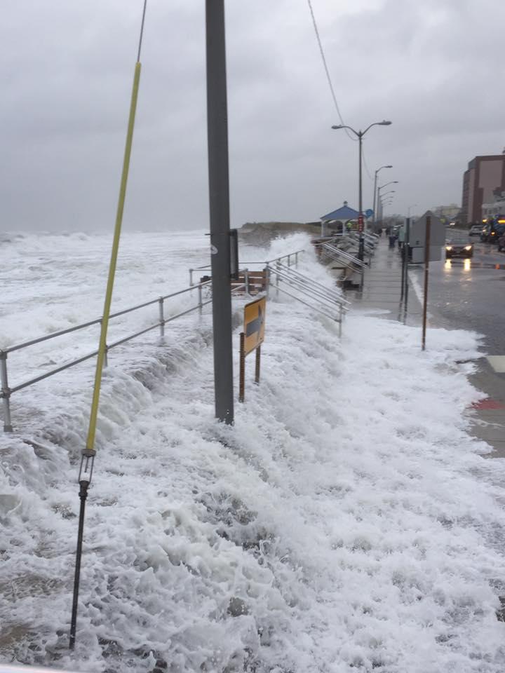 Wildwood Weather High Surf And Coastal Flood Warning In Effect