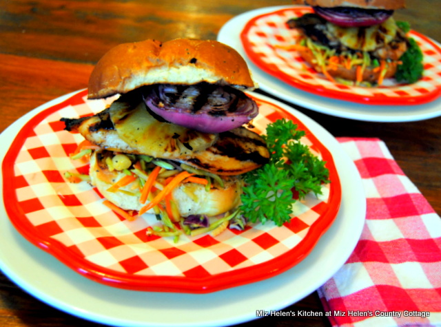 Grilled Teriyaki Chicken Sandwich at Miz Helen's Country Cottage