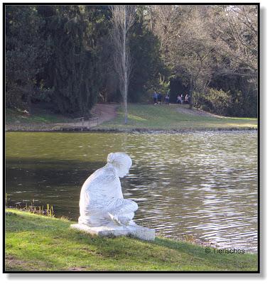 Statue im Wörlitzer Park