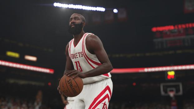 James Harden NBA 2K15 Screenshot