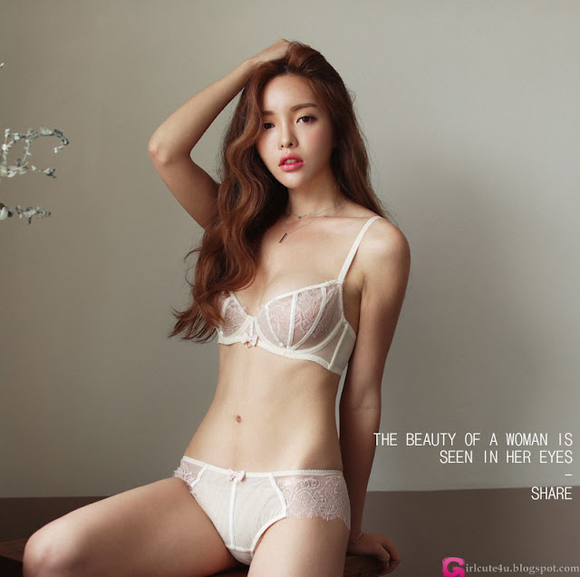 Jin Hee  Lingerie Set - very cute asian girl - girlcute4u.blogspot.com (1)