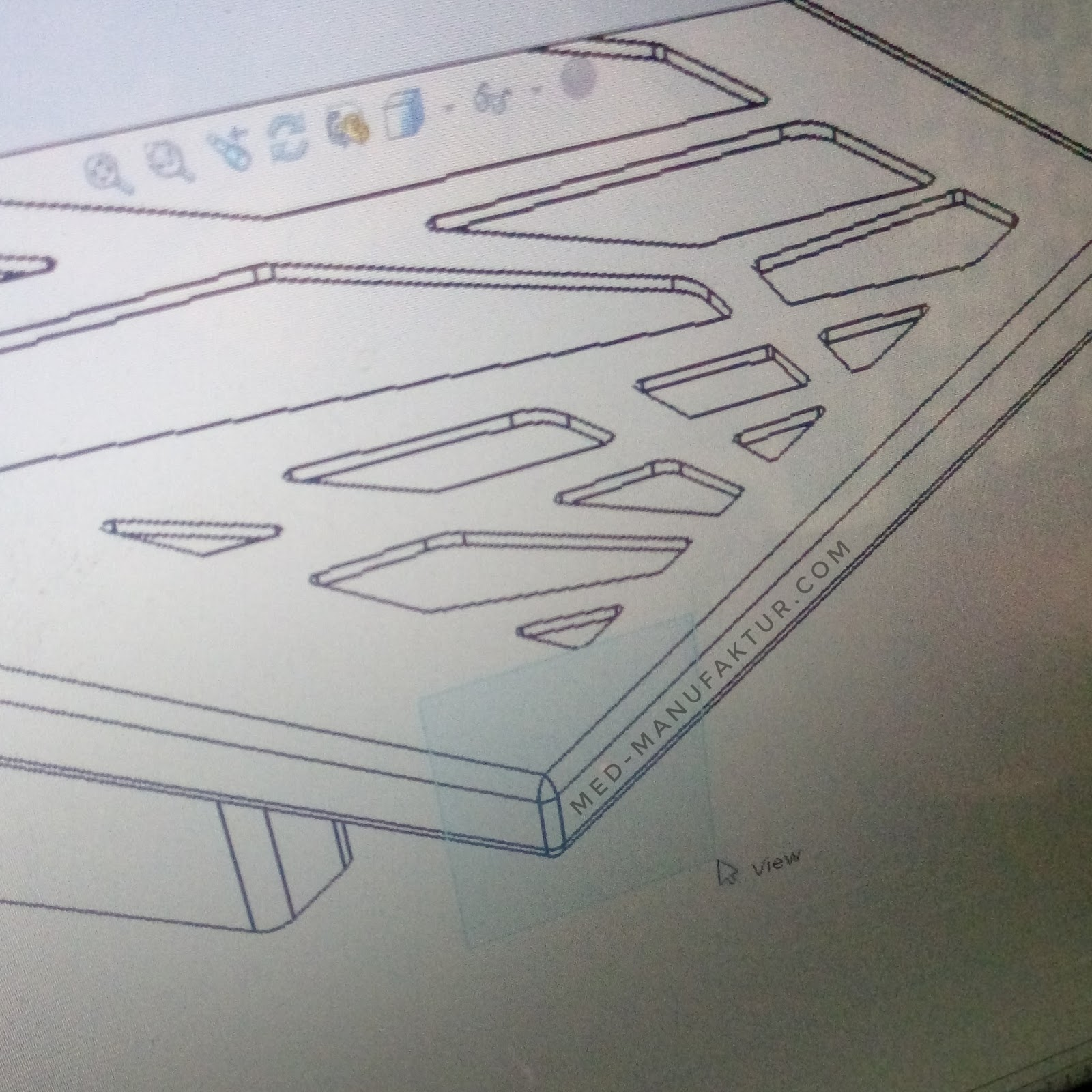 Jasa Gambar Desain Teknik Produk 3D