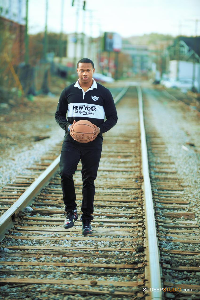 Urban Basketball Sports theme Ann Arbor Senior Pictures for Guys SudeepStudio.com Ann Arbor Senior Portrait Photographer