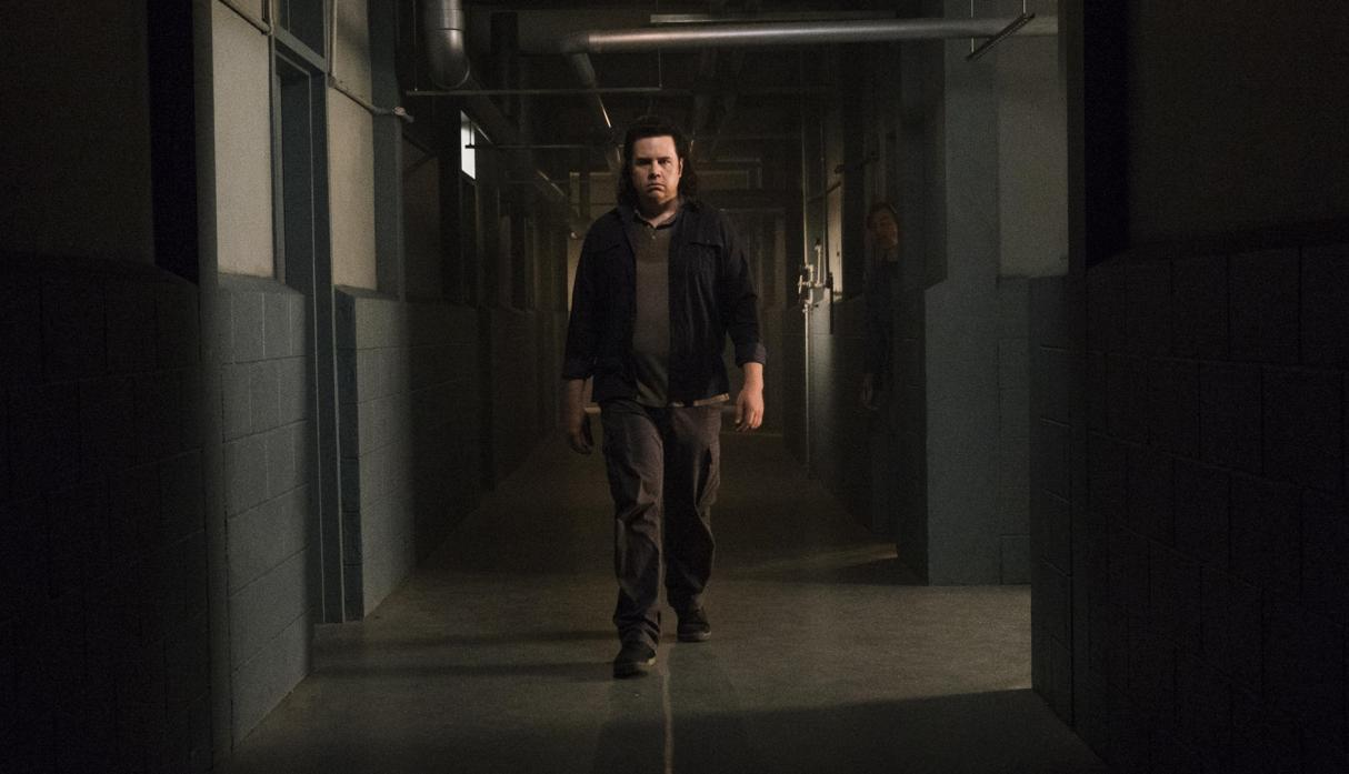 Eugene, en el episodio 8x07 Time for After de The Walking Dead