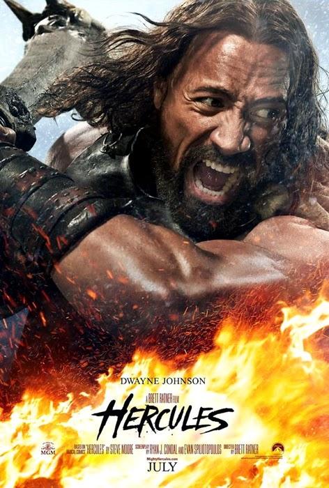 Poster Hercules 2014 - Dwayne Johnson