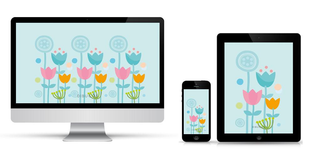 [freebie] Hello Spring, fondos para tu móvil, tablet y ordenador