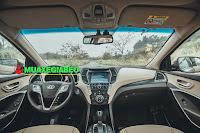 So sánh Toyota Fortuner với Hyundai Santafe ở bản máy dầu, 2 cầu, số tự động ảnh 9