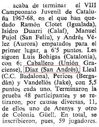Mundo Deportivo, 17 de noviembre de 1967