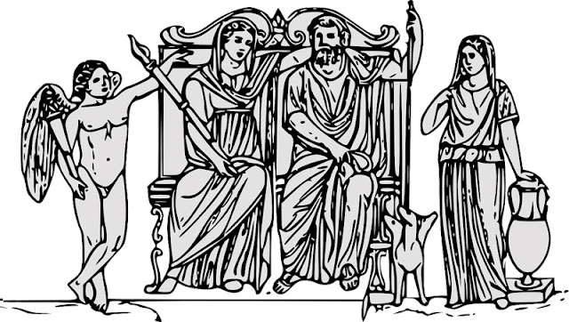 Gambar Dewa-Dewi Yunani Kuno
