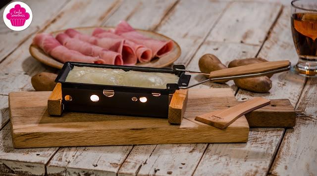 Partyclette - Raclette pour deux à la bougie - Test produit Raviday Fromage