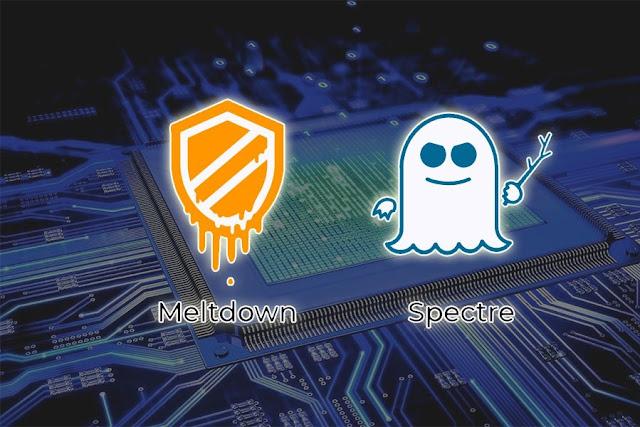 Meltdown and Spectre Cell processor Viruses