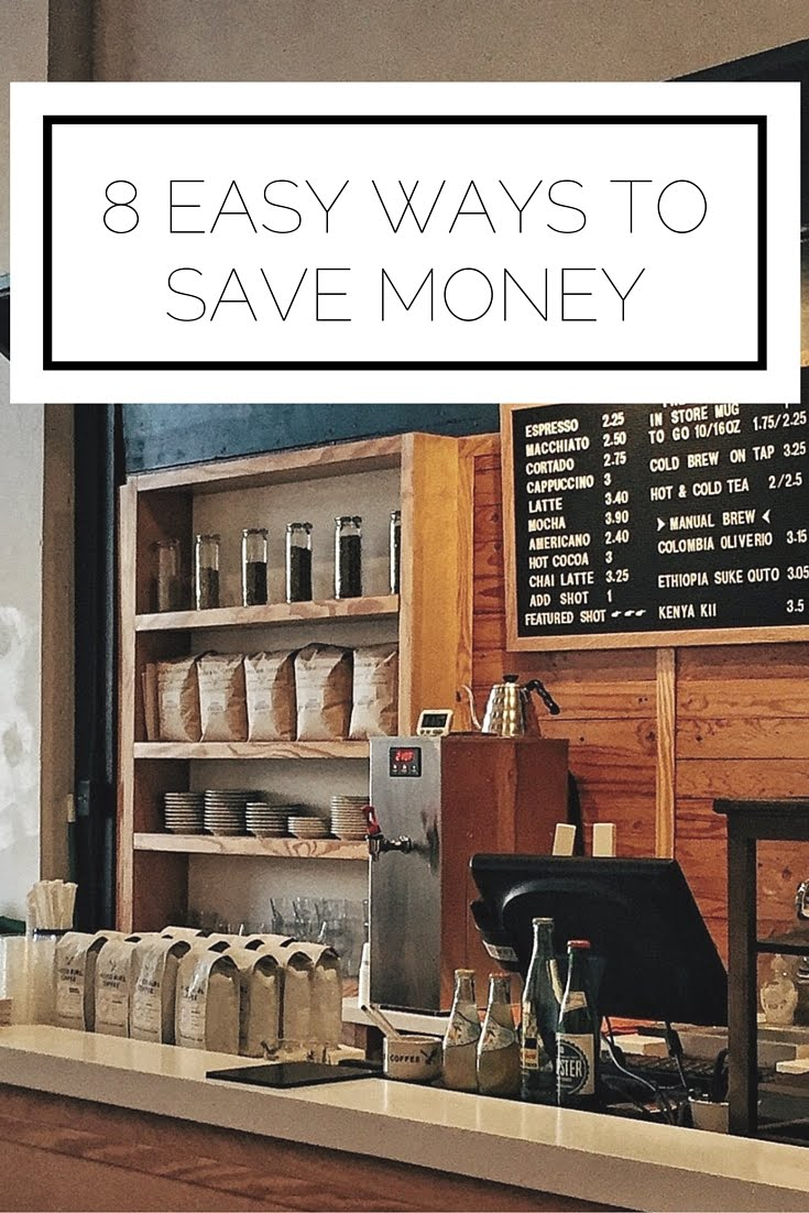 Click to read now or pin to save for later! Use these 8 easy ways to save money to make your wallet happier