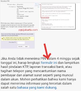 Cara Mudah Aktivasi PIN Adsense Menggunakan KTP/SIM/Pasport