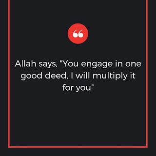 Engage in one good deed