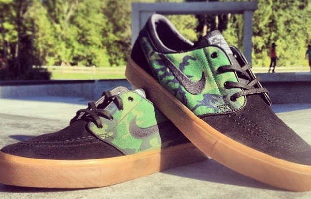 8f32c9f90c0aa This latest version of the Nike SB Zoom Stefan Janoski Low opts for  camouflage, but goes with a somewhat different camo look called jungle camo.
