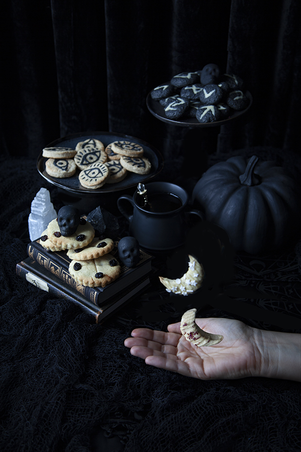 Biscuits magiques pour Halloween