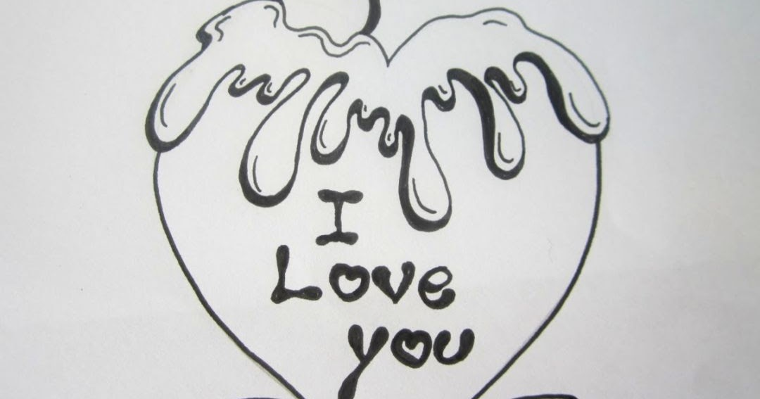 I Love You Drawings: Cute Hearts To Draw For Your Boyfriend