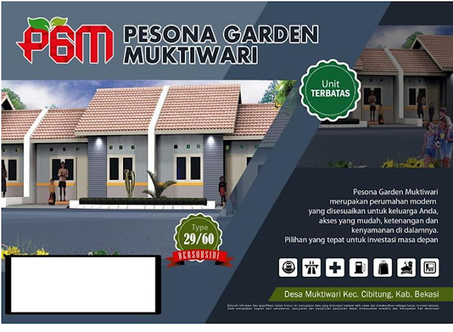Pesona Garden Muktiwari Rumah Subsidi Baru Di Cibitung Bekasi