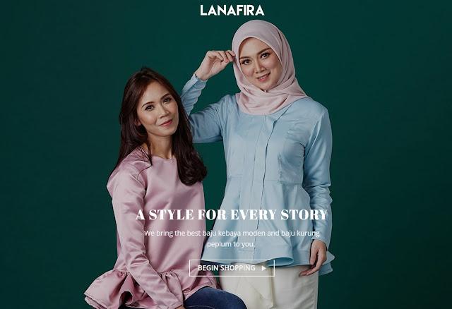 butik muslimah, pakaian muslimah, butik online, lanafira, butik lanafira, butik muslimah trendy