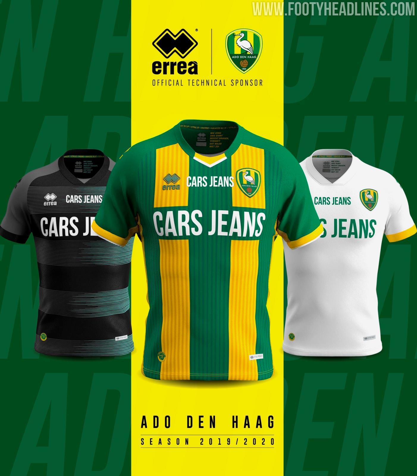 Ado Den Haag 19 20 Home Away Third Kits Released Footy Headlines