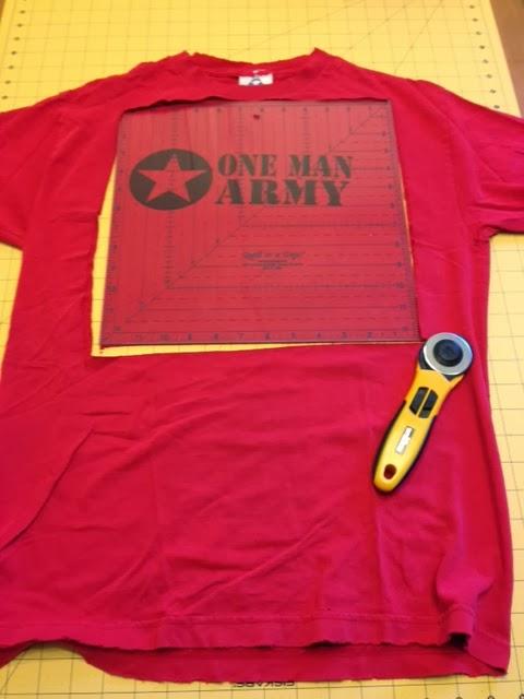 T Shirt Quilt Cutter