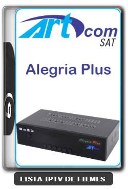 Artcom Alegria Plus Nova Atualização Modificada Com SKS ON, 61w, 63w E 107w - 29/02/2020