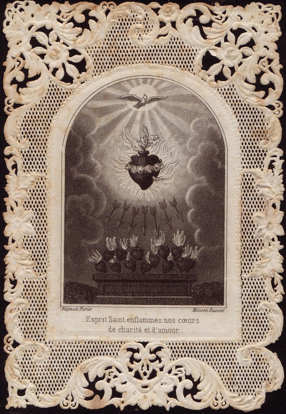 Come Holy Spirit! Veni Sancte Spiritus!