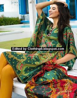 Zeen Stitched Silk Tops Midsummer-15