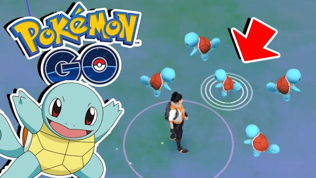 El día 12 de enero Pokémon GO volvería a cambiar de nidos
