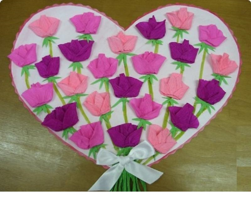 Mother day crafts ideas art craft ideas projects for Mother s day crafts for kindergarten