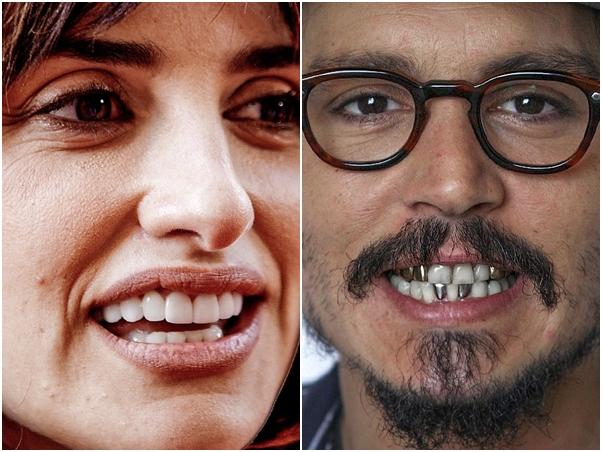 Penelope Cruz Johnny Depp Sem Photoshop Famosos