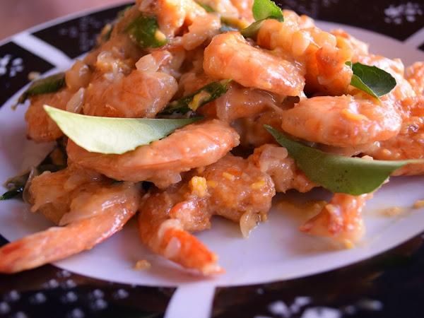 Keriitleto Kitchen : Resepi Udang goreng butter