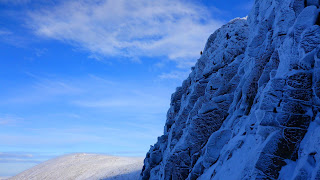 Introductory winter climbing and winter mountaineering course