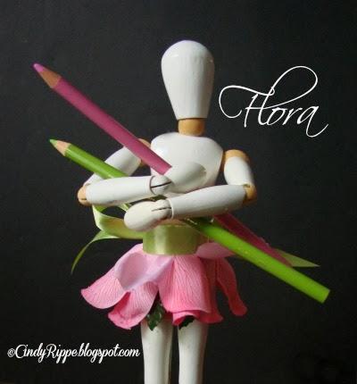 Flora's Art Adventures, Flora on Fridays, Cindy Rippe, Florals-Family-Faith, cindyrippe.blogspot.com