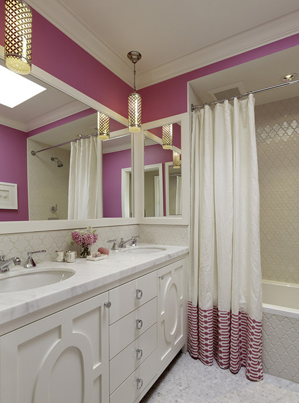 Teenage Girl Small Bathroom Ideas: 55 Ideias Para Banheiros Pequenos