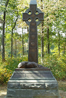 Irish Brigade Monument - Blogging Through the Alphabet on Homeschool Coffee Break @ kympossibleblog.blogspot.com  #ABCBloggoing #Irish #CivilWar