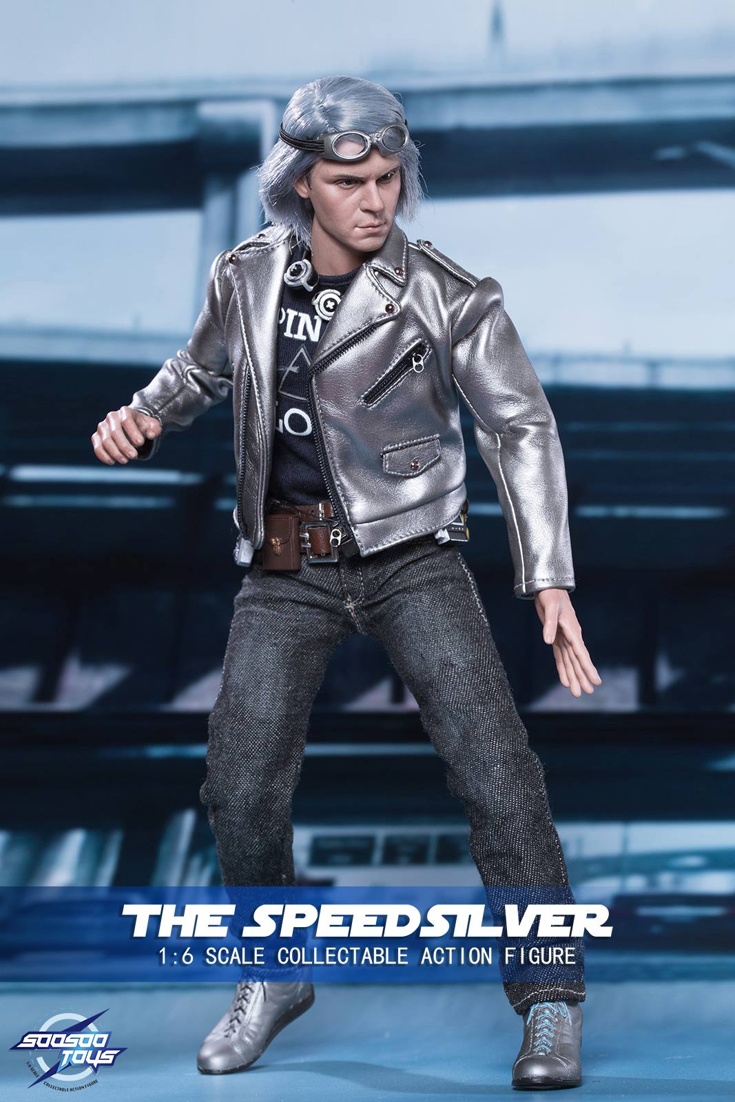 1//6 SOOSOOTOYS Quicksilver Peter Maximoff Mutants Action Figure SST017 Collect