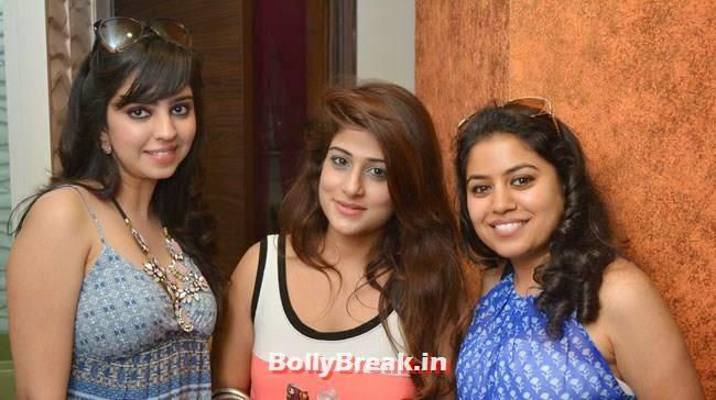 Amrita Singh, Shefali and Navneeta Singh, Hair and Makeup Studio 'ANGE', Launch Pics