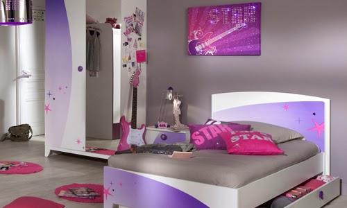 Dormitorio para ni as y adolescentes color lila for Les chambre pour filles