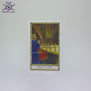 The Druid Craft Tarot - 9 of Cups