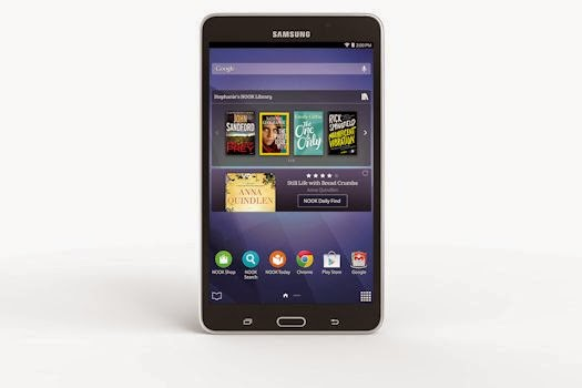Press Release: Samsung and Barnes & Noble Introduce New Samsung Galaxy Tab® 4 NOOK®