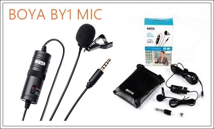 BOYA-BY-M1-Omni-Directional-Lavalier-Microphone