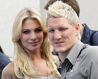 fotos novias jugadores futbol
