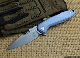 Bear Claw FYL Leopard ST006 titanium flipper