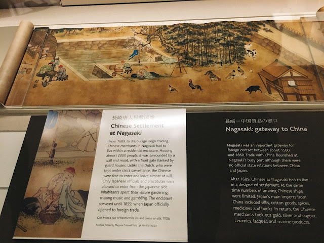 近世日本(Edo period japan)|長崎唐人屋敷図巻(Chinese Settlement at Nagasaki)