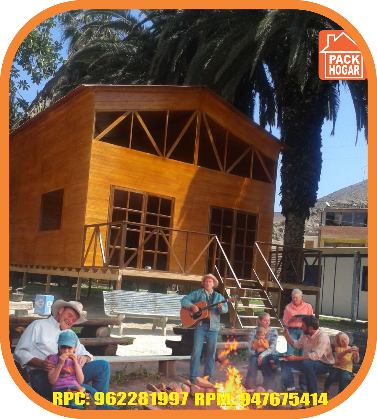 Cerro azul vivir en una casa de madera est de moda - Casas de madera para vivir ...