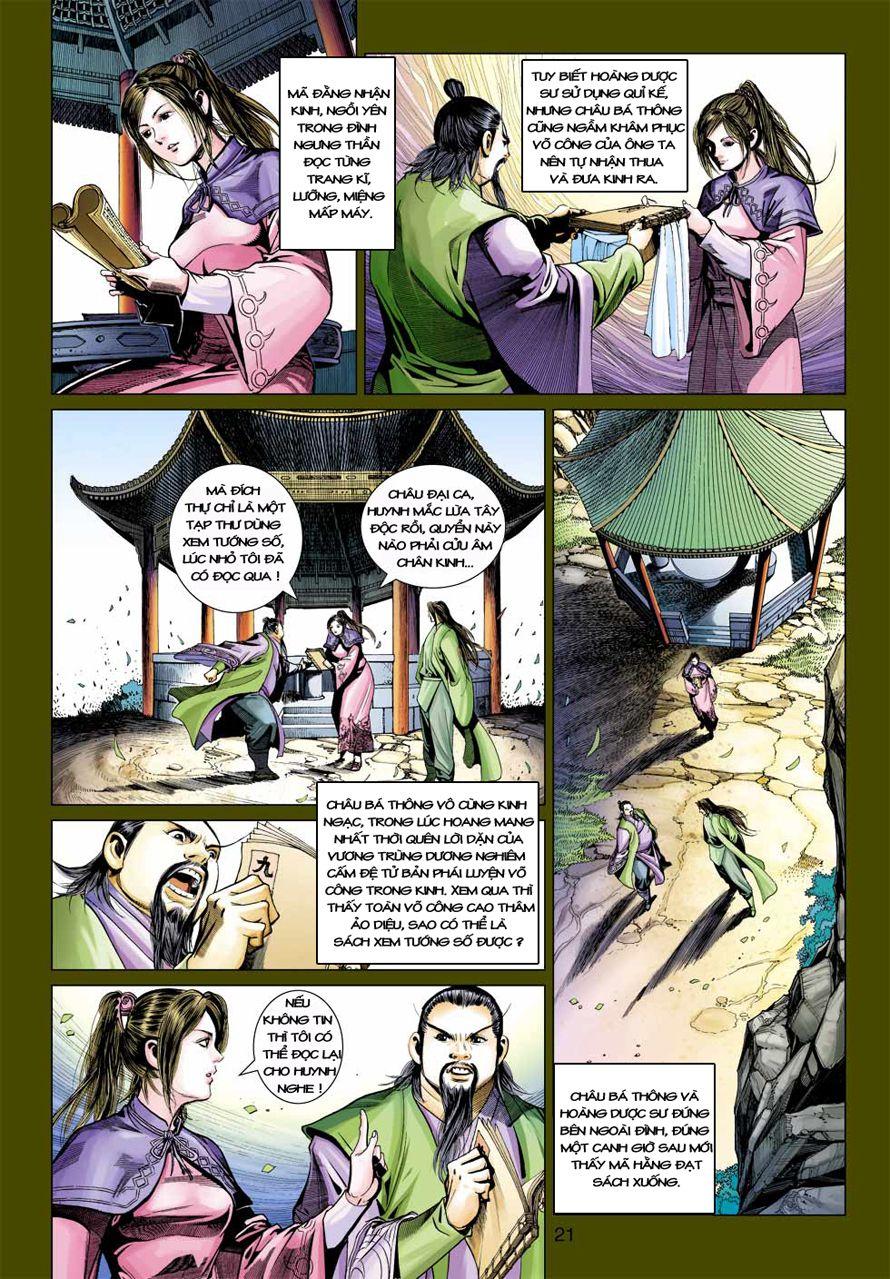 Anh Hùng Xạ Điêu anh hùng xạ đêu chap 41 trang 20