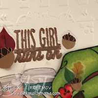The Greeting Farm Latte Anya Copic Coloring Verve Stamps Heat Embossing Die Cutting copper American crafts Shimelle True Stories Go Now Go coffee cups tim holtz embossing folder diffuser